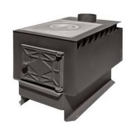 Отопительная печь Профессоръ Бутаковъ EZ Гимназист-2 EZ с чугуной варочной плитой