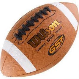 Мяч для американского футбола Wilson GST Official Composite WTF1780XB