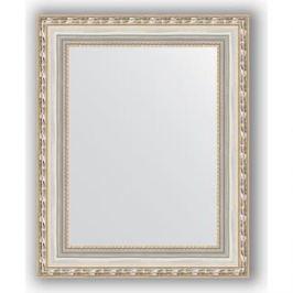 Зеркало в багетной раме Evoform Definite 42x52 см, версаль серебро 64 мм (BY 3014)
