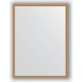 Зеркало в багетной раме поворотное Evoform Definite 58x78 см, витое золото 28 мм (BY 0640)