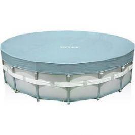 Тент Intex 28040 для каркасного бассейна Ultra Frame 488см (выступ 20см)