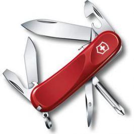 Нож перочинный Victorinox Evolution S111 2.4603.SE (85мм, 12 функций, красный)