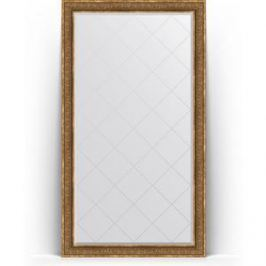 Зеркало напольное с гравировкой поворотное Evoform Exclusive-G Floor 114x204 см, в багетной раме - вензель бронзовый 101 мм (BY 6371)