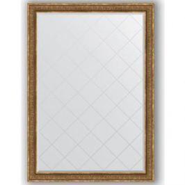 Зеркало с гравировкой поворотное Evoform Exclusive-G 134x189 см, в багетной раме - вензель бронзовый 101 мм (BY 4507)