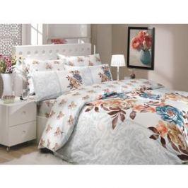 Комплект постельного белья Hobby home collection 1,5 сп, ранфорс, Delicia, синий (1501000212)
