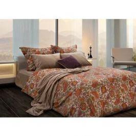 Комплект постельного белья TIFFANY'S secret Семейный, сатин, Долина огней