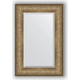 Зеркало с фацетом в багетной раме поворотное Evoform Exclusive 60x90 см, виньетка античная бронза 109 мм (BY 3425)