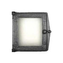 Дверца каминная Балезино ДТ-4 со стеклом