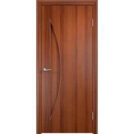 Дверь VERDA Тип С-6(г) глухая 2000х400 МДФ финиш-пленка Итальянский орех
