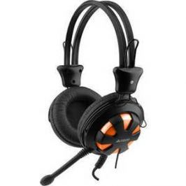 Гарнитура A4Tech HS-28 orange-black
