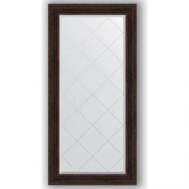 Зеркало с гравировкой поворотное Evoform Exclusive-G 79x161 см, в багетной раме - темный прованс 99 мм (BY 4291)