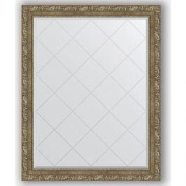 Зеркало с гравировкой поворотное Evoform Exclusive-G 95x120 см, в багетной раме - виньетка античная латунь 85 мм (BY 4360)
