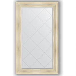 Зеркало с гравировкой поворотное Evoform Exclusive-G 79x134 см, в багетной раме - травленое серебро 99 мм (BY 4246)