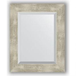 Зеркало с фацетом в багетной раме Evoform Exclusive 41x51 см, алюминий 61 мм (BY 1361)