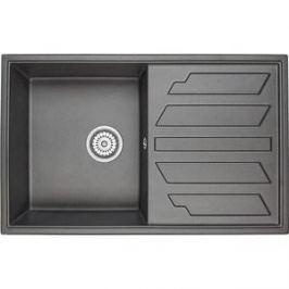 Мойка кухонная Granula 79x50 см черный (GR-8002 черный)