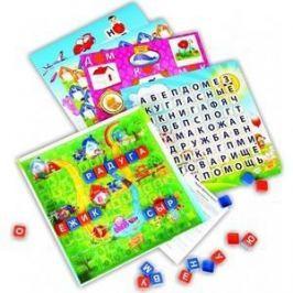Настольная игра Биплант Эрудитдружные буквы/игровое поле прозрачное (10006)