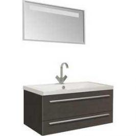 Комплект мебели Aquanet Нота 90 алюминий цвет венге