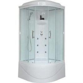 Душевая кабина Royal Bath 90х90х217 стекло белое/прозрачное (RB90BK3-WT)