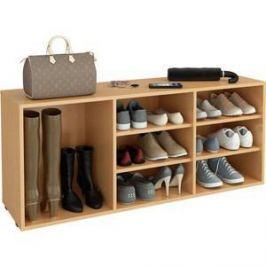 Полка для обуви Мастер Лана-3 ПОЛ-3 (1С+2П) (бук) МСТ-ПОЛ-1С-2П-БК-16
