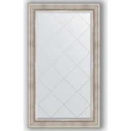 Зеркало с гравировкой поворотное Evoform Exclusive-G 76x131 см, в багетной раме - римское серебро 88 мм (BY 4233)