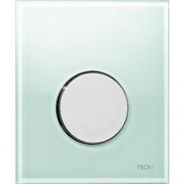 Панель смыва для писсуара TECE TECEloop Urinal (9242653) стекло зеленое, клавиша хром глянцевый