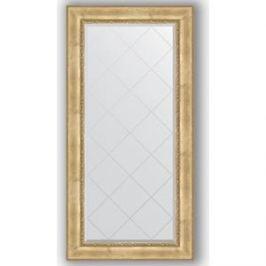 Зеркало с гравировкой поворотное Evoform Exclusive-G 82x164 см, в багетной раме - состаренное серебро с орнаментом 120 мм (BY 4299)
