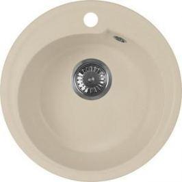 Мойка кухонная AquaGranitEx M-45 440х440 бежевый (M-45 328)