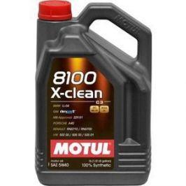 Моторное масло MOTUL 8100 X-Clean 5w-40 5 л