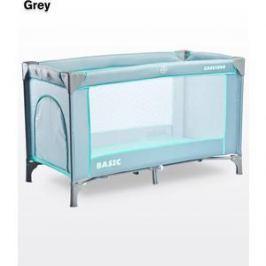 Манеж-кровать Caretero Basic Grey (серый)