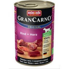 Консервы Animonda Vom Feinsten Gran Carno Original Adult с говядиной и сердцем для собак 400г (82731)