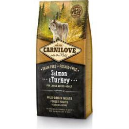 Сухой корм Brit Carnilove Adult Large Breed Grain-free Salmon & Turkey беззерновой с лососем и индейкой для собак крупных пород 12кг (150821)