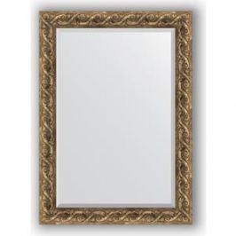 Зеркало с фацетом в багетной раме поворотное Evoform Exclusive 76x106 см, фреска 84 мм (BY 1299)
