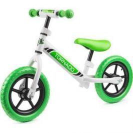 Small Rider Детский беговел Tornado, бело-зеленый (1244231/цв 1244239)