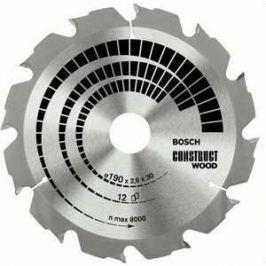 Диск пильный Bosch 230х30мм 16зубьев Construct Wood (2.608.640.635)