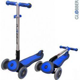 Самокат 3-х колесный Globber 446-100 ELITE S My Free Fold up DARK BLUE