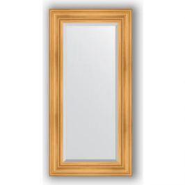 Зеркало с фацетом в багетной раме поворотное Evoform Exclusive 59x119 см, травленое золото 99 мм (BY 3496)