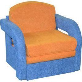 Кресло-кровать Mebel Ars Кармен-2-астра желто-синяя
