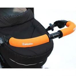 Чехлы Choopie CityGrips (Сити Грипс) на ручку для универсальной коляски длинные 512/9358 Neon Orange