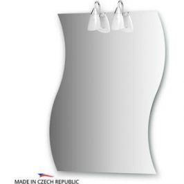 Зеркало Ellux Classic 70х90 см, с 2-мя светильниками 80 W (CLA-A2 0426)