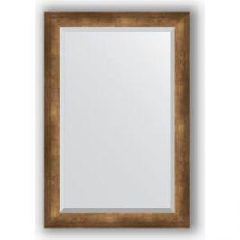 Зеркало с фацетом в багетной раме поворотное Evoform Exclusive 62x92 см, состаренная бронза 66 мм (BY 1178)