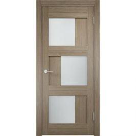 Дверь ELDORF Баден-10 остекленная 2000х600 экошпон Дуб дымчатый