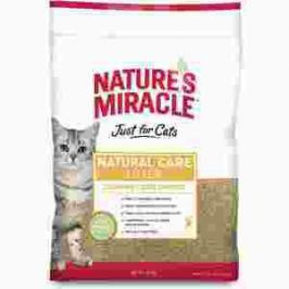 Наполнитель 8in1 Nature's Miracle Natural Care Litter Clumping Odor Control кукурузный комкующийся без аромата для кошачьего туалета 4,5кг (10л)