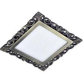 Точечный светильник Donolux DL18153/3000-Antique silver SQ