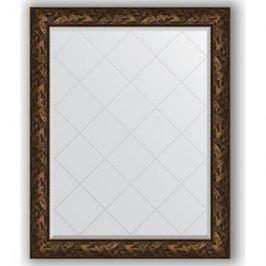 Зеркало с гравировкой поворотное Evoform Exclusive-G 99x124 см, в багетной раме - византия бронза 99 мм (BY 4373)