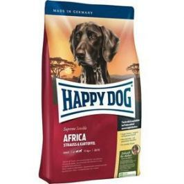 Сухой корм Happy Dog Supreme Sensible Adult 11kg+ Africa Ostrich&Potato с мясом страуса и картофелем для собак средних и крупных пород 12,5кг (03548)
