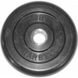 Диск обрезиненный Barbell 51 мм 2.5 кг