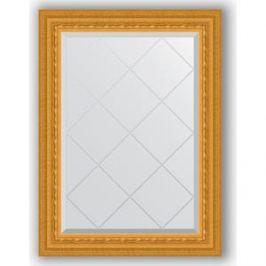 Зеркало с гравировкой поворотное Evoform Exclusive-G 65x87 см, в багетной раме - сусальное золото 80 мм (BY 4095)