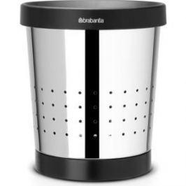 Корзина для бумаг коническая 5 л Brabantia (364280) полированная сталь