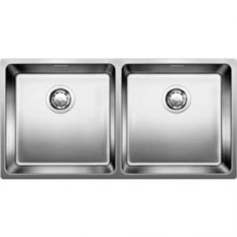 Мойка кухонная Blanco Andano 400/400-U без клапана-автомата (522987/518325)