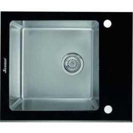 Мойка кухонная Seaman Eco Glass SMG-610B вентиль-автомат (SMG-610B.B)